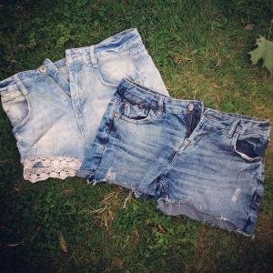 DIY shorts upcycled